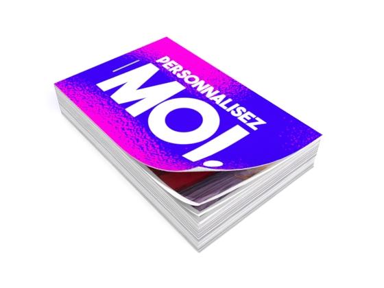 flipbook rose et violet à personnaliser personnalisez moi