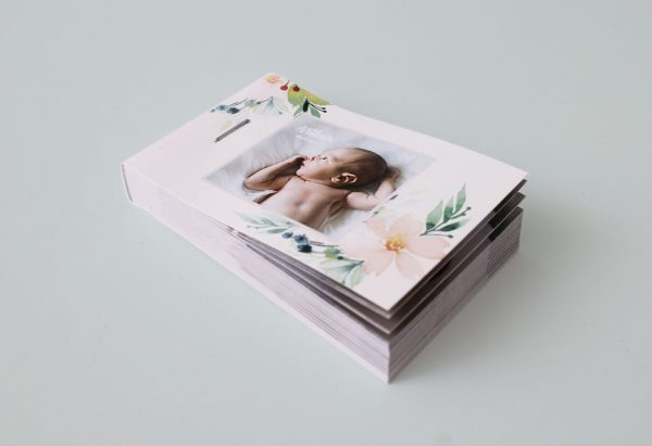 flipbook personnalisé faire part de naissance bébé arthur
