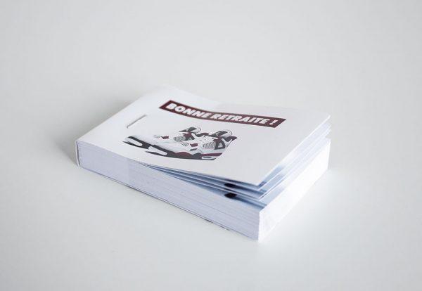 flipbook folioscope vidéo imprimer basket bonne retraite