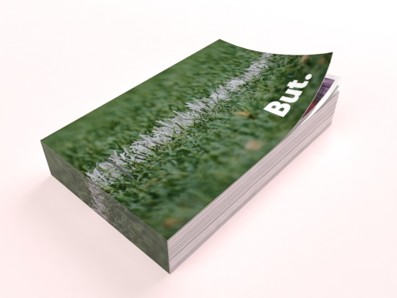flipbook vert pelouse foot but