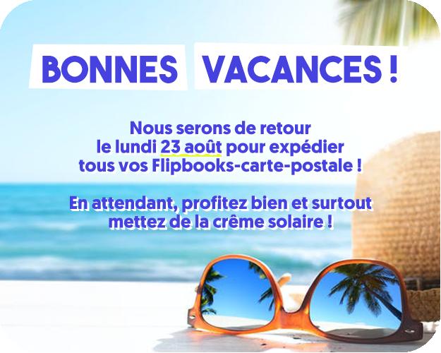 message bonnes vacances